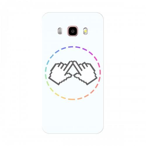"""Чехол для Samsung Galaxy J7 (2016) с принтом """"Логотип"""""""