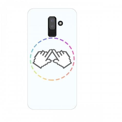 """Чехол для Samsung Galaxy J8 (2018) с принтом """"Логотип"""""""