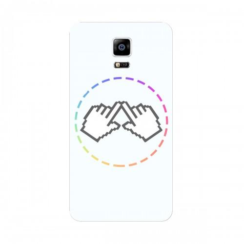 "Чехол для Samsung Galaxy Note Edge/N915F с принтом ""Логотип"""
