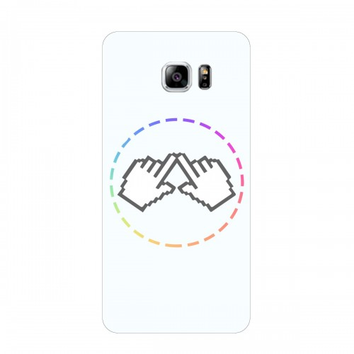 "Чехол для Samsung Galaxy Note 5 Edge с принтом ""Логотип"""