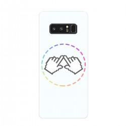 """Чехол для Samsung Galaxy Note 8 (2017) с принтом """"Логотип"""""""