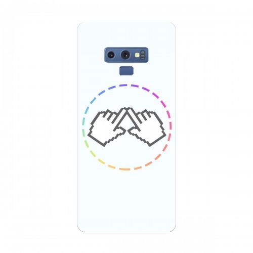 """Чехол для Samsung Galaxy Note 9 (2018) с принтом """"Логотип"""""""