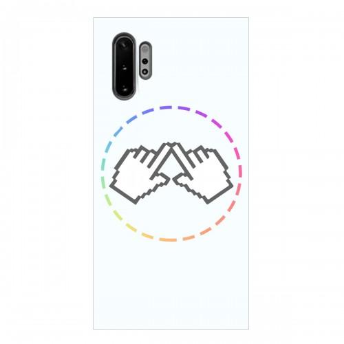 "Чехол для Samsung Galaxy Note 10 Plus с принтом ""Логотип"""