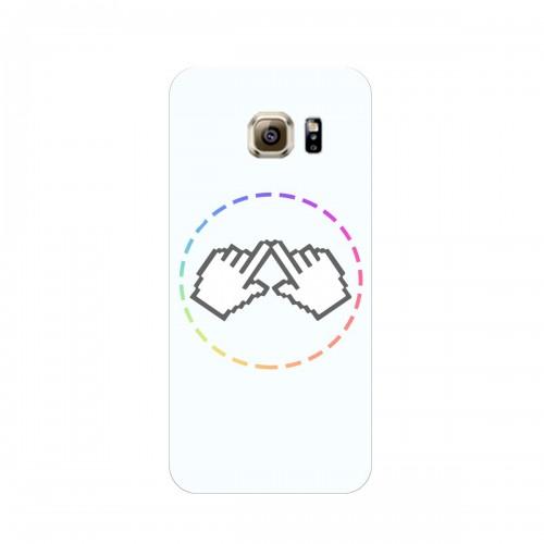 "Чехол для Samsung Galaxy S6 Edge/G925 с принтом ""Логотип"""