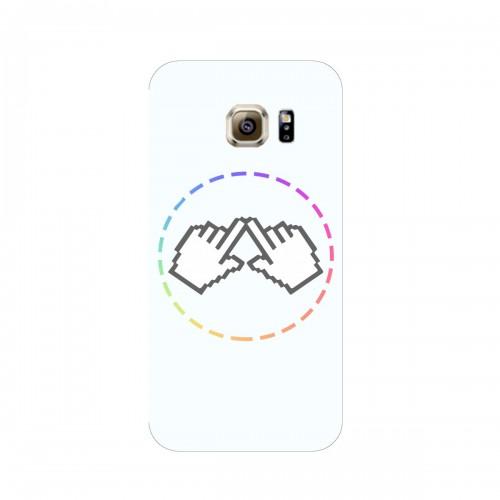 "Чехол для Samsung Galaxy S6/G920F с принтом ""Логотип"""