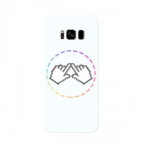 """Чехол для Samsung Galaxy S8 (2017) с принтом """"Логотип"""""""