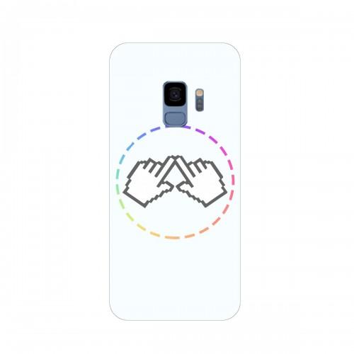 """Чехол для Samsung Galaxy S9 (2018) с принтом """"Логотип"""""""