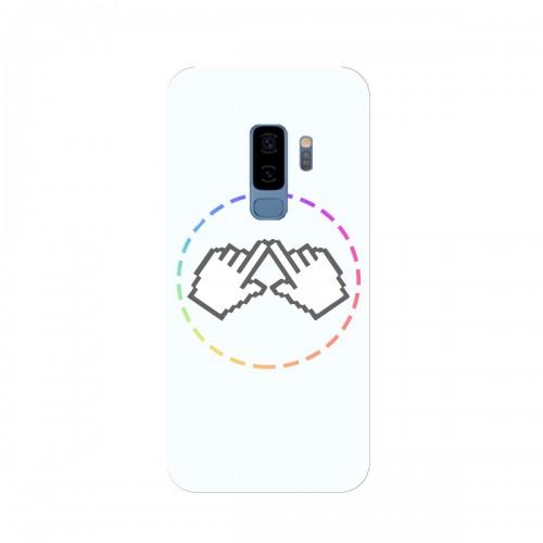 """Чехол для Samsung Galaxy S9 Plus (2018) с принтом """"Логотип"""""""
