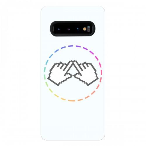 """Чехол для Samsung Galaxy S10 Plus с принтом """"Логотип"""""""