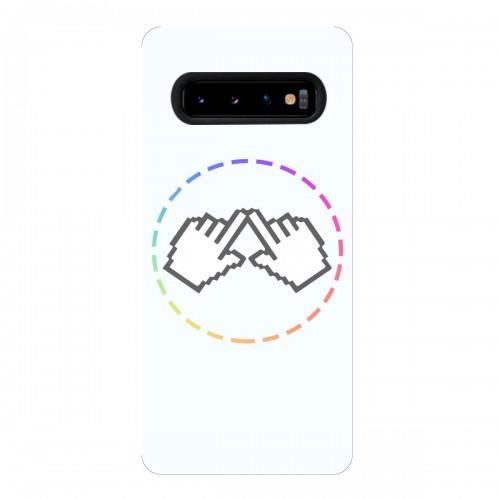 """Чехол для Samsung Galaxy S10 с принтом """"Логотип"""""""