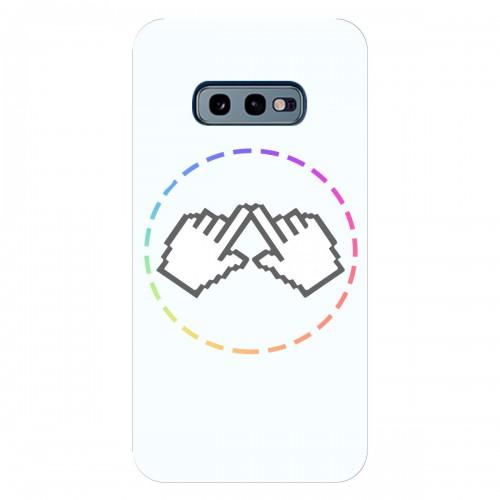 """Чехол для Samsung Galaxy S10 е с принтом """"Логотип"""""""