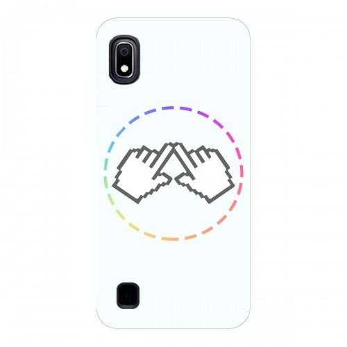 """Чехол для Samsung Galaxy A10 с принтом """"Логотип"""""""