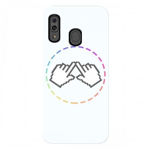 """Чехол для Samsung Galaxy A20 с принтом """"Логотип"""""""