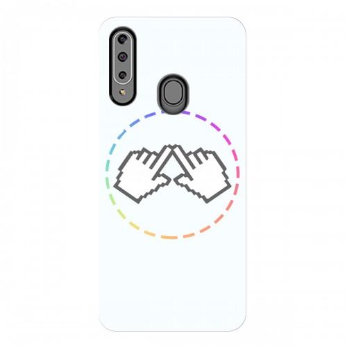 """Чехол для Samsung Galaxy A20S с принтом """"Логотип"""""""