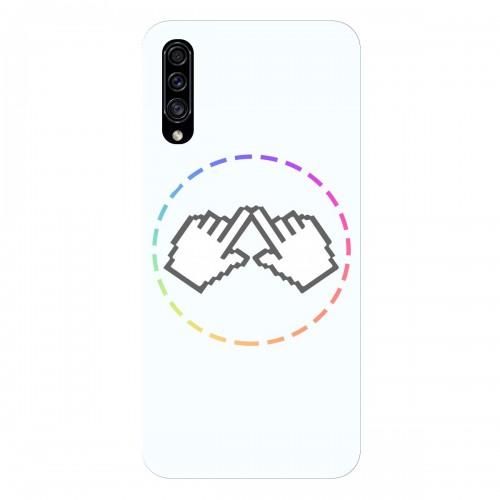 """Чехол для Samsung Galaxy A30S с принтом """"Логотип"""""""