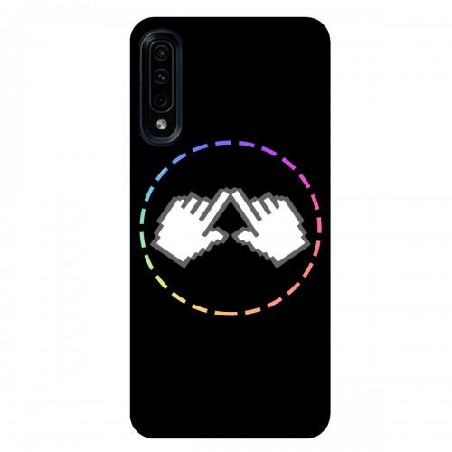 """Чехол для Samsung Galaxy A50 с принтом """"Логотип"""""""