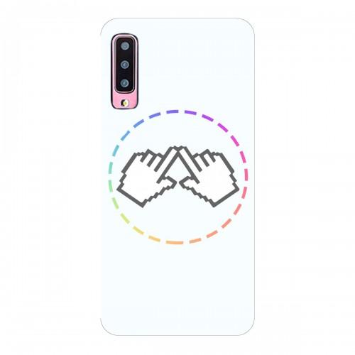 """Чехол для Samsung Galaxy A70 с принтом """"Логотип"""""""