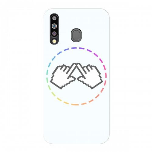 """Чехол для Samsung Galaxy M30 с принтом """"Логотип"""""""