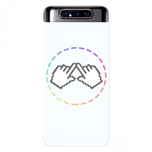 """Чехол для Samsung Galaxy A80 с принтом """"Логотип"""""""
