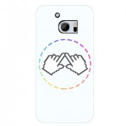 "Чехол для HTC One M10 с принтом ""Логотип"""