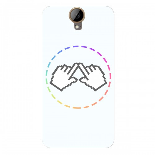 "Чехол для HTC One E9 Plus с принтом ""Логотип"""