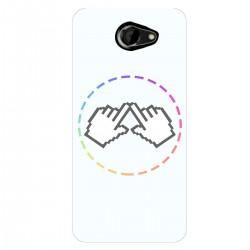 """Чехол для HTC Desire 516 Dual Sim с принтом """"Логотип"""""""