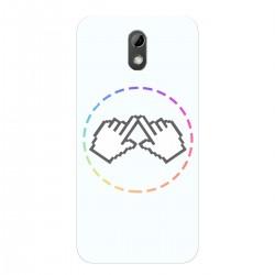"""Чехол для HTC Desire 526 с принтом """"Логотип"""""""