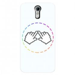 """Чехол для HTC Desire 620 с принтом """"Логотип"""""""
