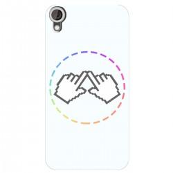"""Чехол для HTC Desire 825 с принтом """"Логотип"""""""