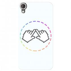 """Чехол для HTC Desire 830 с принтом """"Логотип"""""""