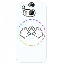 "Чехол для HTC One 2/M8 с принтом ""Логотип"""