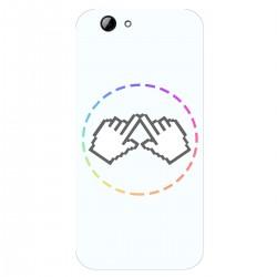 """Чехол для HTC One A9s с принтом """"Логотип"""""""