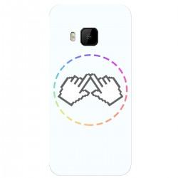 "Чехол для HTC One M9 с принтом ""Логотип"""