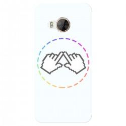 "Чехол для HTC One Me/One Me Dual Sim/M9ET с принтом ""Логотип"""