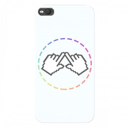 """Чехол для HTC One X9 Dual Sim с принтом """"Логотип"""""""