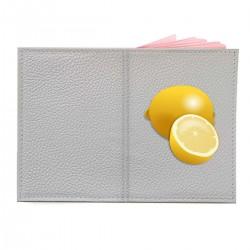 """Обложка на паспорт с принтом """"Лимончики"""""""