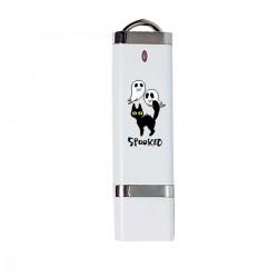 """USB-накопитель с принтом """"Напуганная котя"""""""