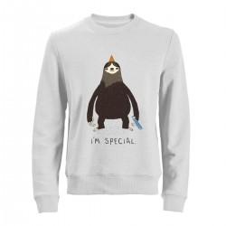 """Свитшот с принтом """"I am special"""""""