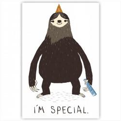"""Холст с принтом """"I am special"""" (20x30cм)"""