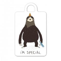 """Брелок с принтом """"I am special"""""""