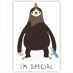 """Холст с принтом """"I am special"""" (30x40 cм)"""