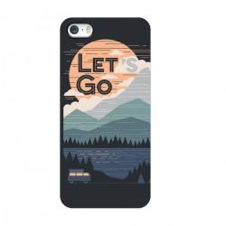 """Чехол для Apple iPhone с принтом """"Ночные горы"""""""