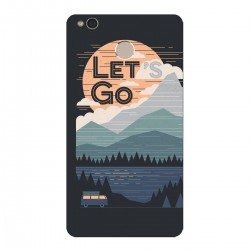 """Чехол для Xiaomi с принтом """"Ночные горы"""""""