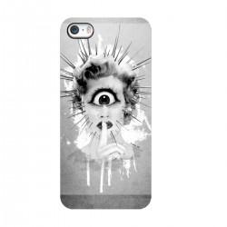 """Чехол для Apple iPhone с принтом """"Не болтай"""""""