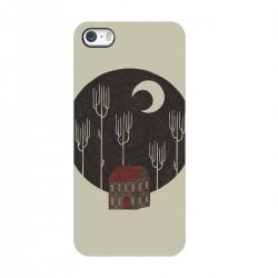 """Чехол для Apple iPhone с принтом """"Ночная церквушка"""""""