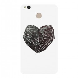 """Чехол для Xiaomi с принтом """"Черное сердце"""""""