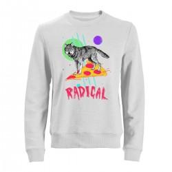 """Свитшот с принтом """"Radical"""""""