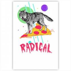 "Холст с принтом ""Radical"" (20x30cм)"