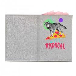 "Обложка на паспорт с принтом ""Radical"""