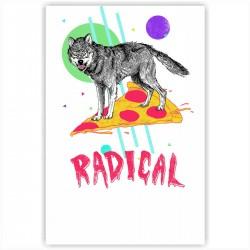 "Холст с принтом ""Radical"" (30x40 cм)"